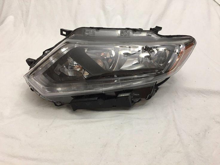Awesome Nissan 2017: 2014 2015 2016 Nissan Rogue LH Left Driver Side Halogen Headlight OEM