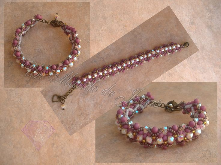 pulsera puzzly flower
