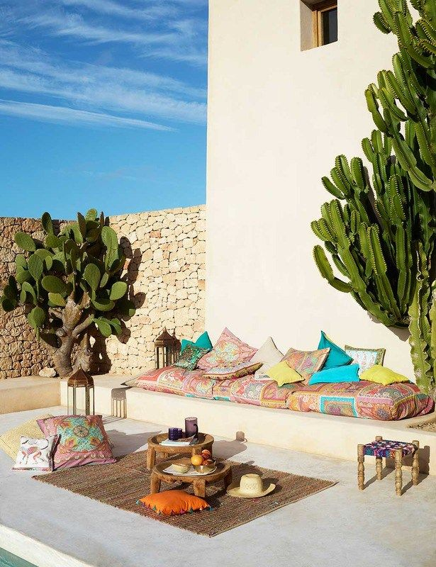 gypset collection pillows, zara home