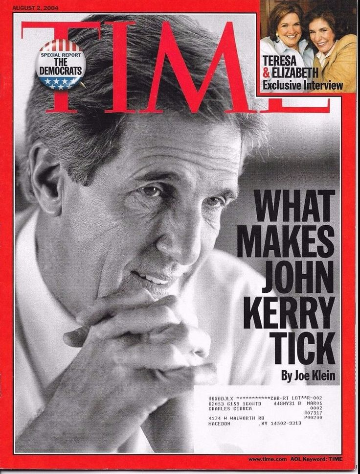 TIME AUGUST 2 2004 8/2/04 WHAT MAKES JOHN KERRY TICK Democrats STEPHEN HAWKING