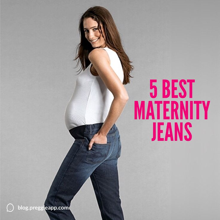 Which is your favorite pair? 5 Best Maternity Jeans | Women on the Verge #maternityfashion