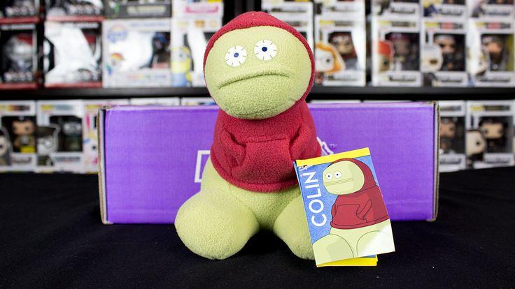 Colin (Monster Factory) from Nerd Block Jr. Unboxing April 2015