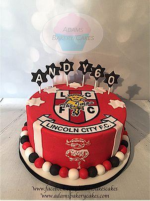 Lincoln city fc cake