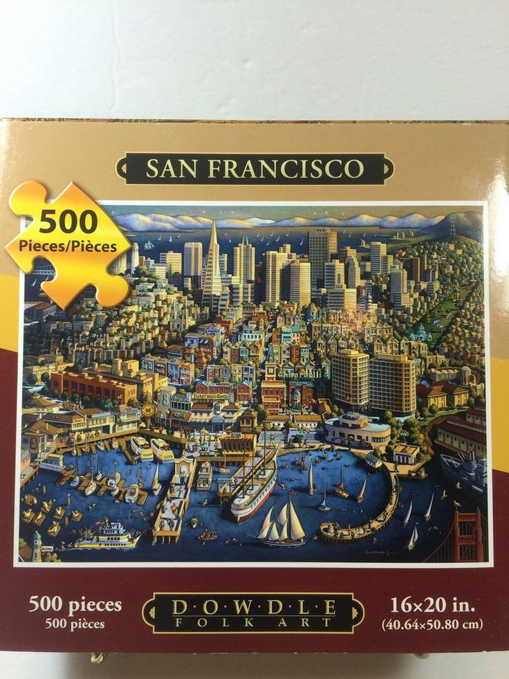 Best Life Is A Puzzle Images On Pinterest Folder Games - San francisco map puzzle