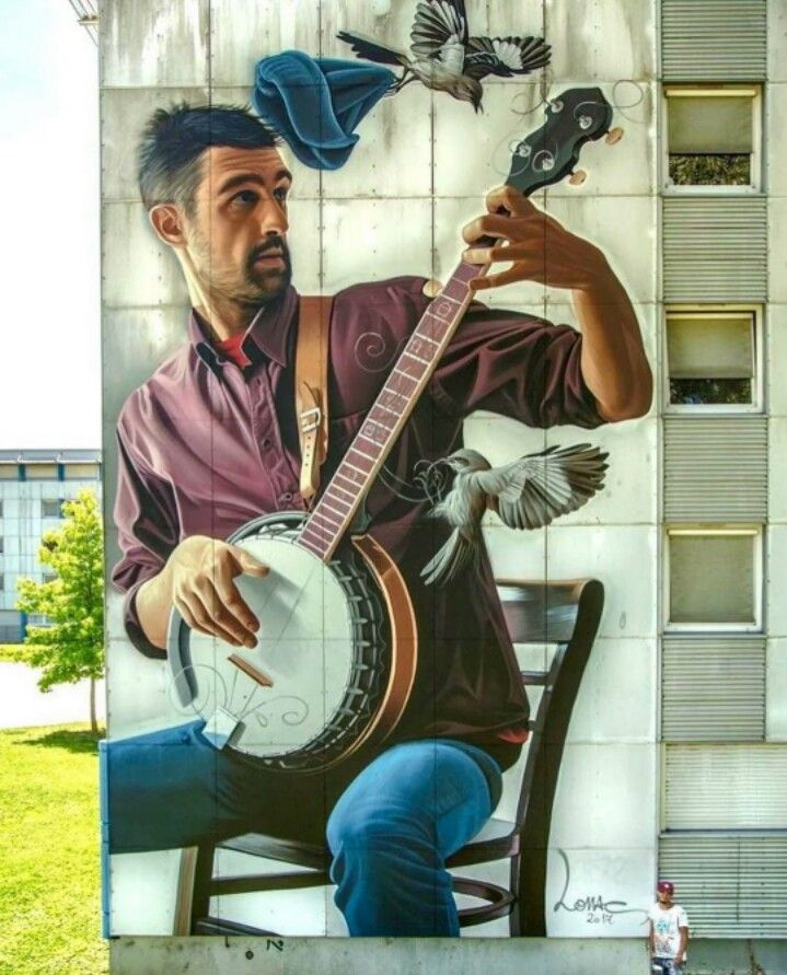 Street Art by Lonac, located in Grenoble, France