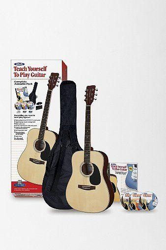 Teach Yourself Acoustic Guitar Kit