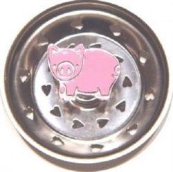 Cute Stainless Steel Kitchen Sink Strainer Basket This