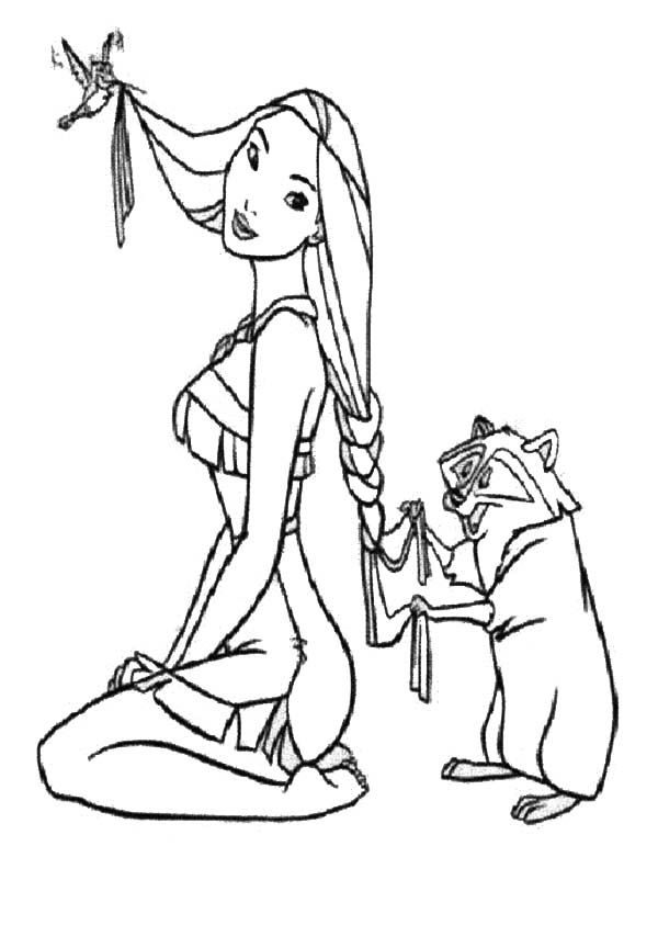 1000+ images about Pocahontas Coloring Pages on Pinterest ... - photo#20