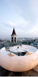 '360' rooftop restaurant, Istanbul, Turkey (Article about nightlife and restaurants)