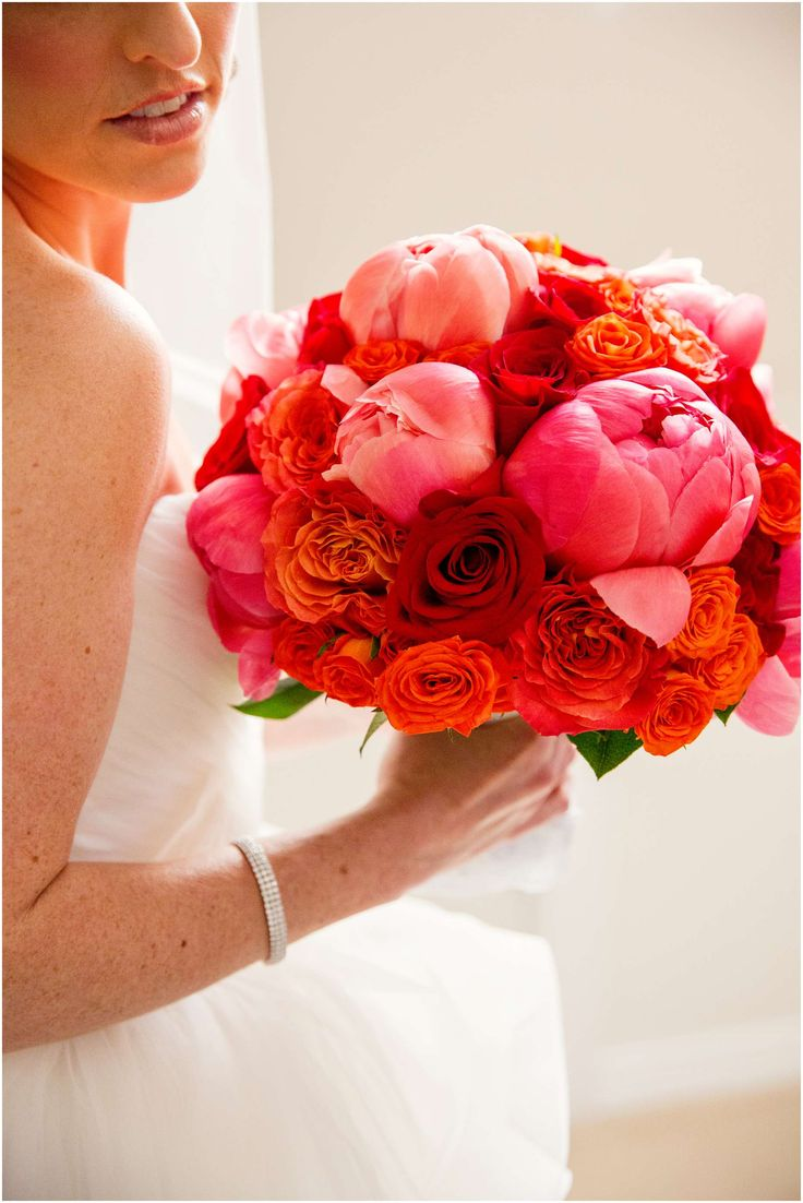 #Bouquet #WeddingFlowers #FloralArrangements Bridgeview Yacht Club Wedding- Kim and Vinny's Big Day!   Modern Wedding Photography by Denise Chastain