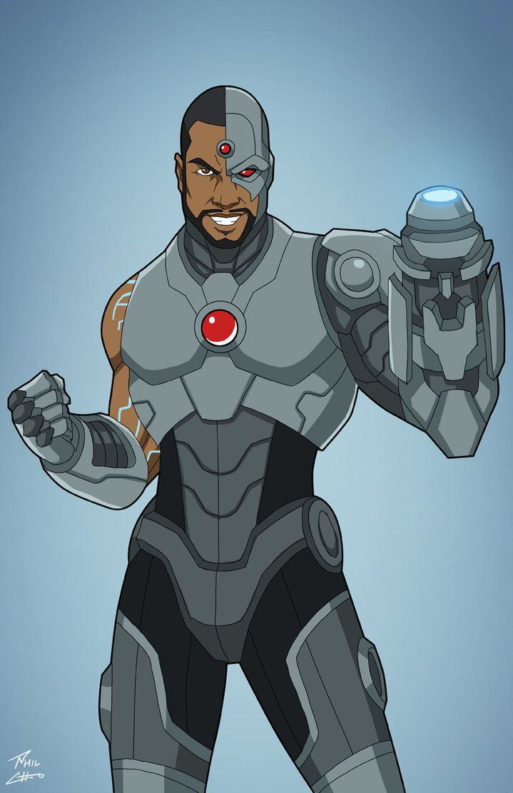 Cyborg (Earth-27) commission by phil-cho.deviantart.com on @DeviantArt