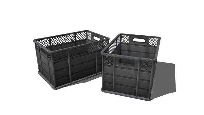 plastic boxes - 3D Warehouse