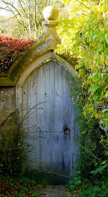 Secret Garden Door... @Lindsay Jernigan Bring back any memories of the Secret Garden!?