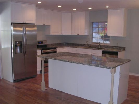 Raised ranch house kitchen remodel