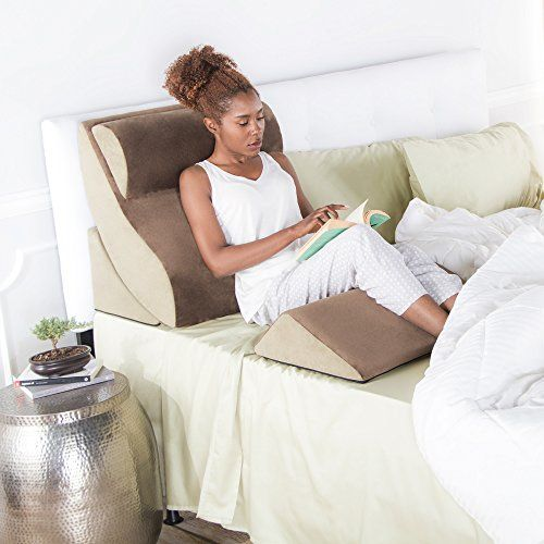 10 Best Bed Wedge Pillows For Neck And Back Support