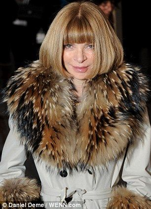 I once had a therapist who looked like Anna Wintour. Once a month I would go in an divulge all my inner thoughts to her. Consequently,  every time I see a picture of Ms. Wintour I want to ask how much the co pay will be.: Google Image, Anna Wintour Fur Png 302 405, Style Icons, Anna Wintour Like, Wintour Style