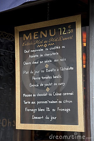 40 Best Images About French Menus On Pinterest Graphics