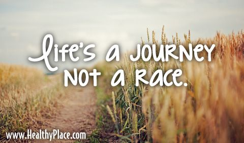 Quote: Life's a journey not a race   fitspiration   Pinterest