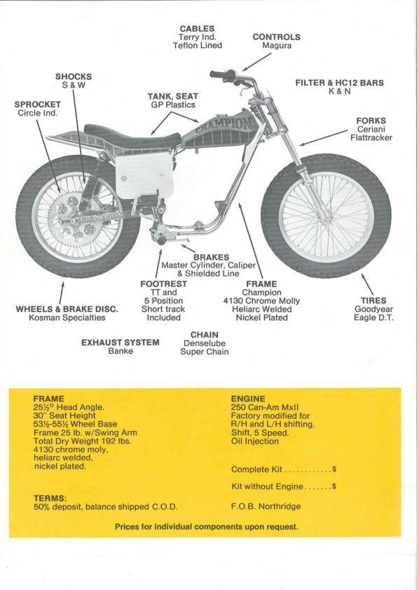 MSOLIS VINTAGE MOTORCYCLE - 1977 DT-250