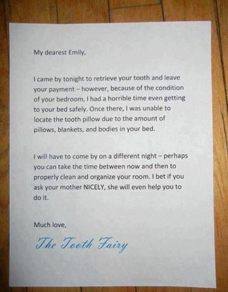 The  Best Tooth Fairy Note Ideas On   Tooth Fairy