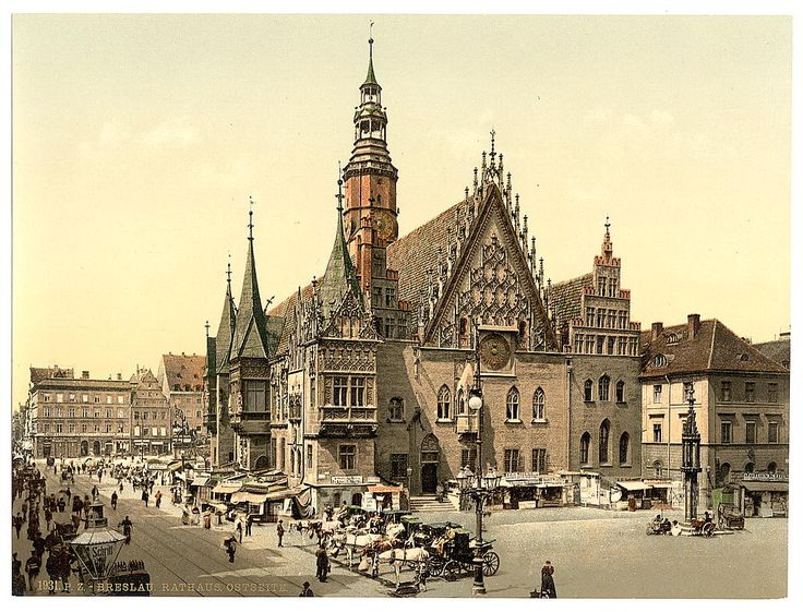 Historic pre-war photos of German cities - Breslau