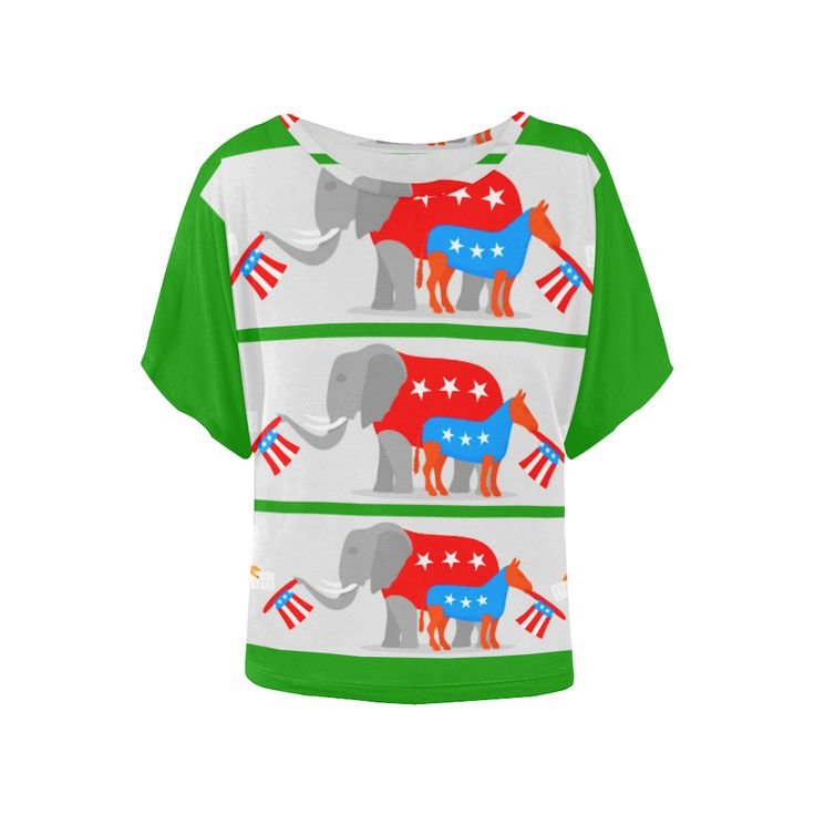 Now selling: USA GREEN Women's Batwing-Sleeved Blouse T shirt  http://politishirtsusa.com/products/usa-green-womens-batwing-sleeved-blouse-t-shirt-model-t43?utm_campaign=crowdfire&utm_content=crowdfire&utm_medium=social&utm_source=pinterest