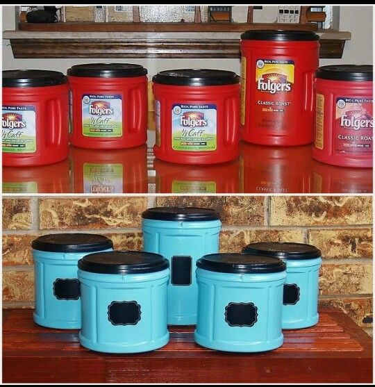 Great canister idea!!