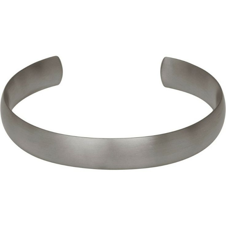 Titanium Bangle - Torc/12mm/Matt Finish #bracelet #mens #cambridge #catherinejones #jewellery