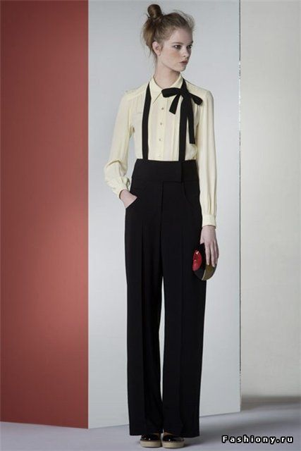 Sonia Rykiel... an awkward yet adorable look