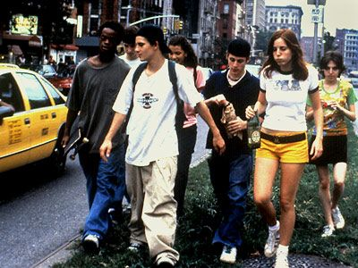 Kids (1995) Saw this s t the Tivoli. I was expecting what I saw but what a memorable movie!!★★★★★