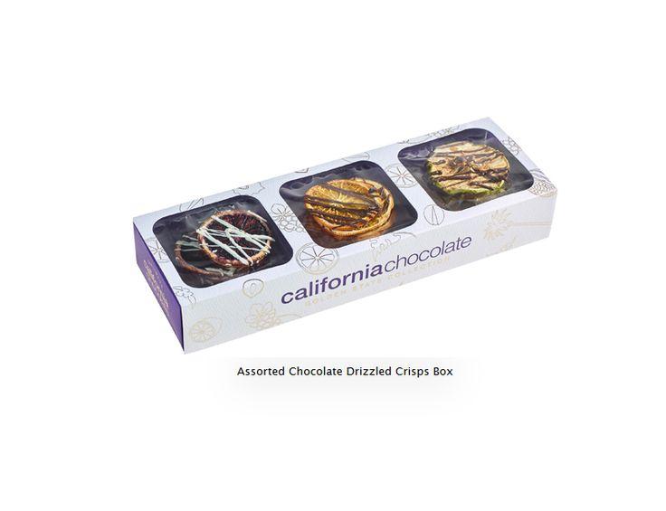 Trio Chocolate Fruit Box