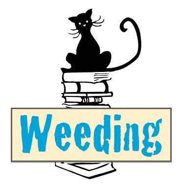 // Weeding brochure (designed for school library, but applicable anywhere!)