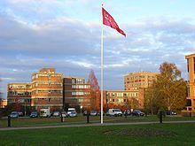 Reading, Berkshire - University's main Whiteknights Campus. My University campus.