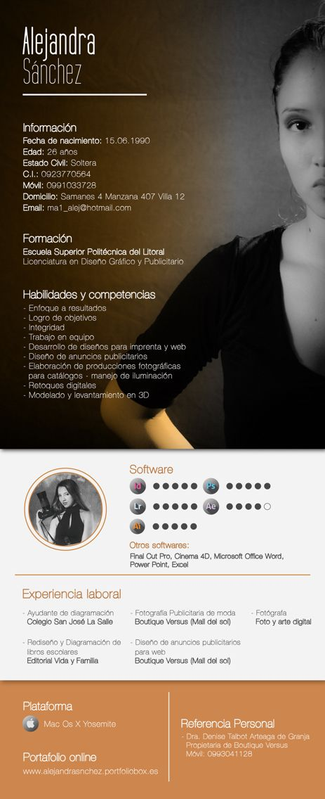 64 best CV & Portfolio images on Pinterest | Brochures, Editorial ...