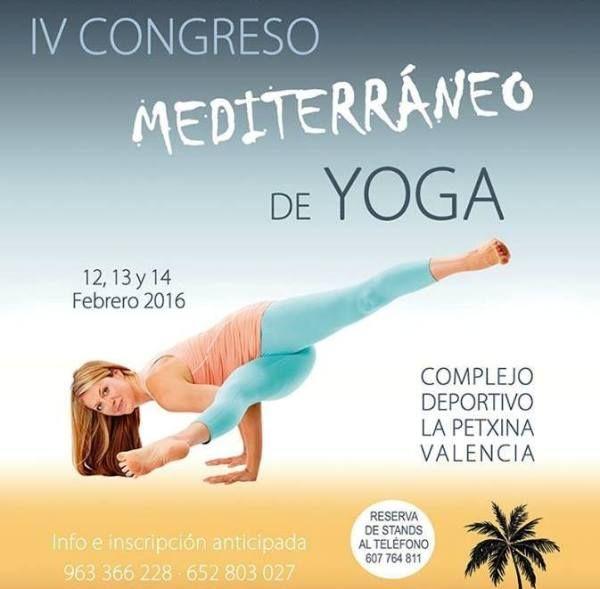 IV Congreso Mediterráneo de Yoga en Valencia - http://www.valenciablog.com/congreso-mediterraneo-de-yoga-en-valencia/