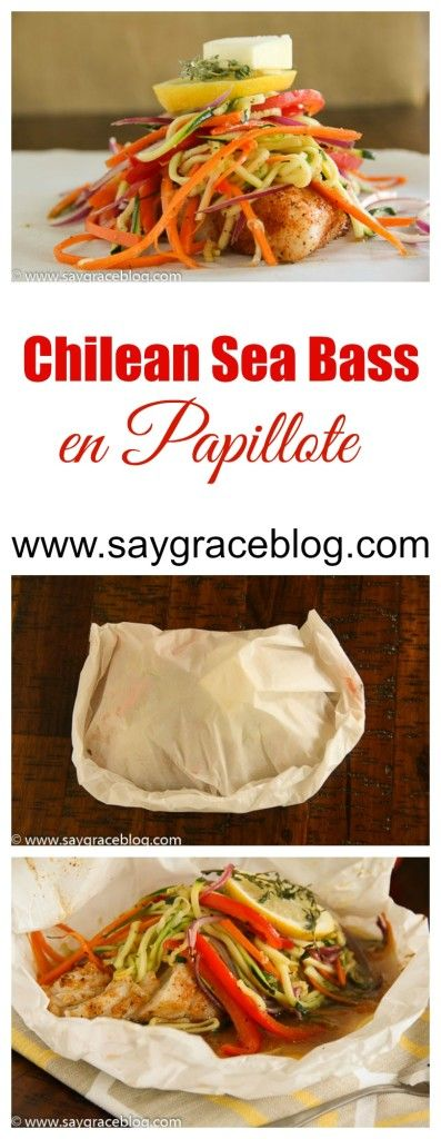 A rich, buttery white fish and julienned vegetables steamed to perfection all inside a parchment pocket.