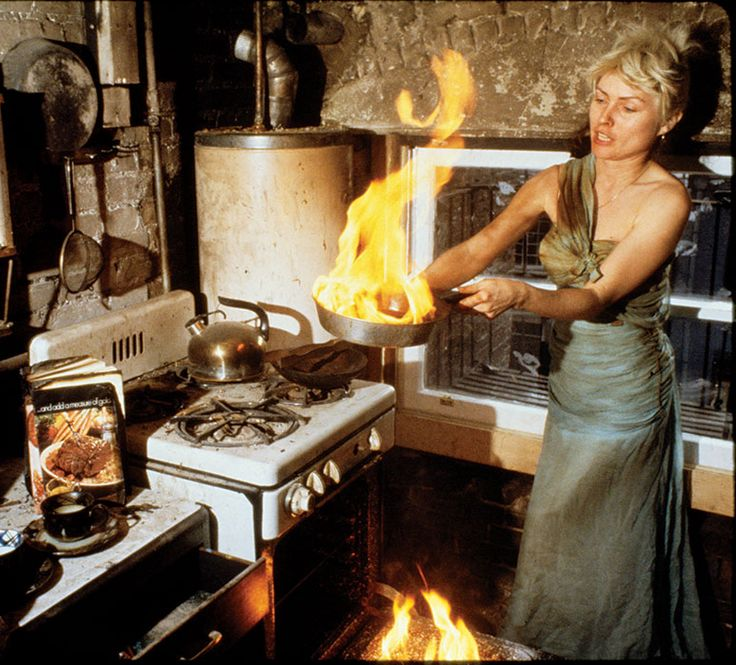 """Picture this: the lovely Debbie Harry, frying up some magic in the kitchen of her apartment on 17th Street in New York, circa 1977. """"All I want is 20-20 vision. A total portrait with no omissions. All I want is a vision of you."""""""