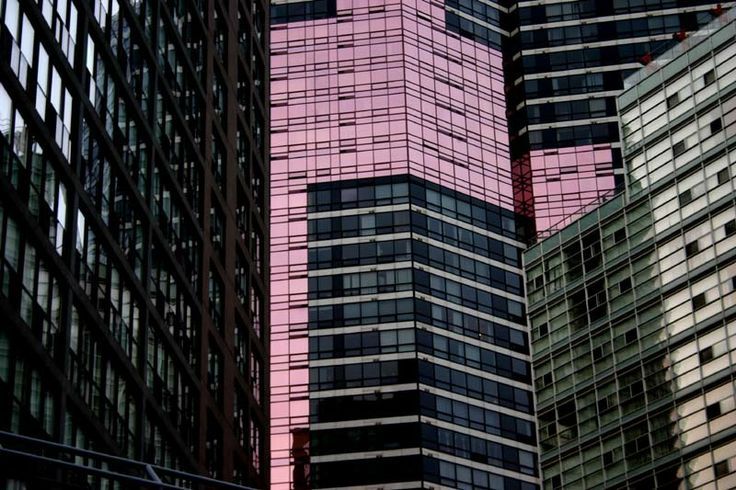 Reflections and Pink Windows