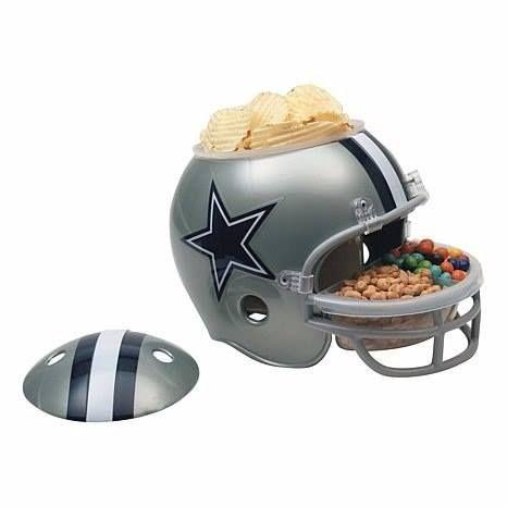 Casco de futball americano para snacks