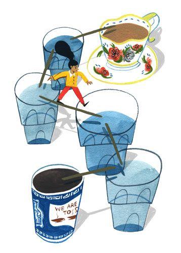 Amazing illustrations by Ping Zhu