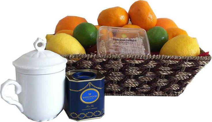 FRUIT HAMPERS + FRUIT BASKETS - FREE DELIVERY  igiftFRUITHAMPERS.com.au - Get Well Citrus Fruit   Raw Honeycomb   Tea Gift Basket, $89.00 (http://www.igiftfruithampers.com.au/get-well-citrus-fruit-raw-honeycomb-tea-gift-basket/)