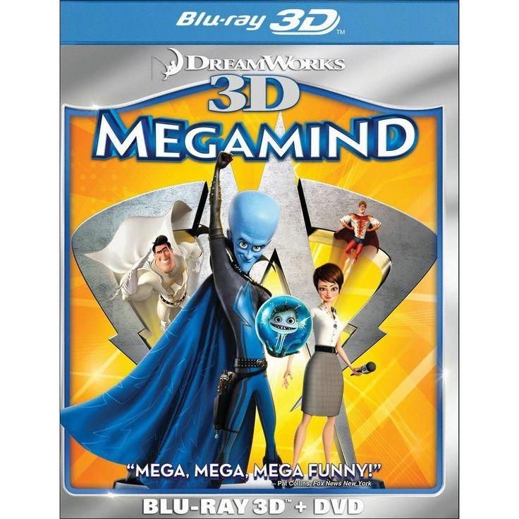 Megamind 3D [2 Discs] [3D] [Blu-ray/DVD]