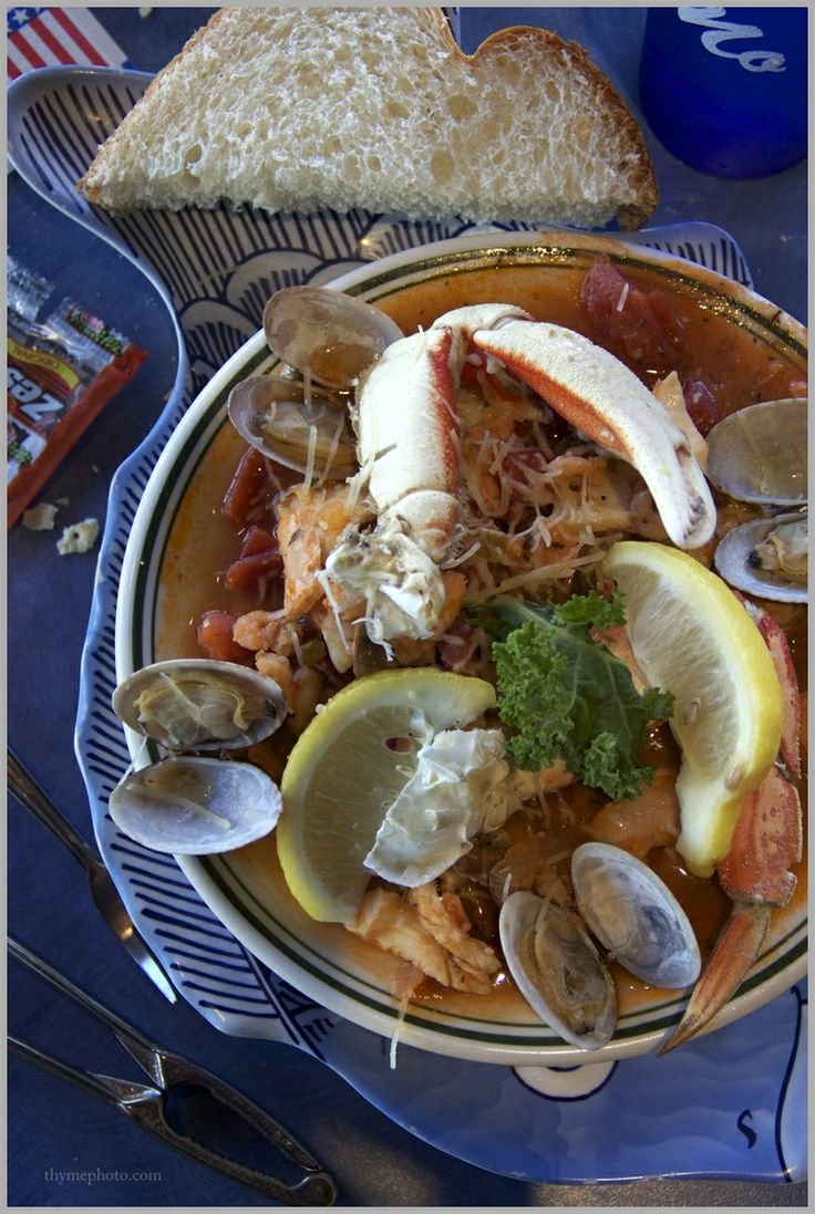 Bouillabaisse from mo 39 s restaurant off of cannon beach in for Fish thyme menu