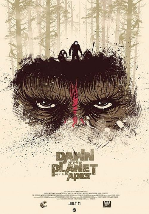 Before the Dawn of the Apes: Vídeos y carteles virales de 'El amanecer del planeta de los simios' - El Séptimo Arte
