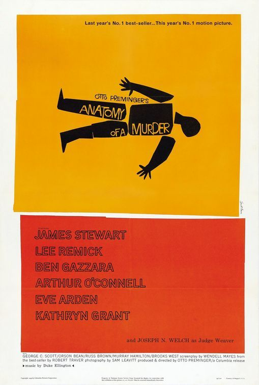 Click to View Extra Large Poster Image for Anatomy of a Murder