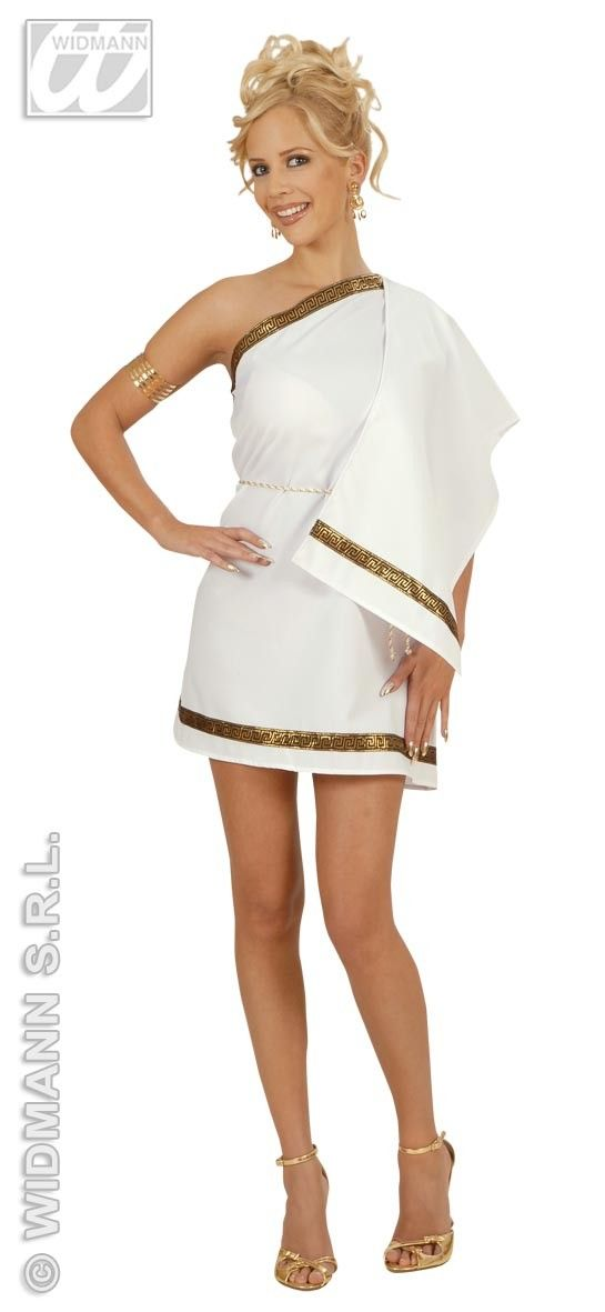 Griekse schone kostuum