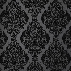 Graham & Brown 56 sq. ft. Kinky Vintage Black Wallpaper-50-223 at The Home Depot