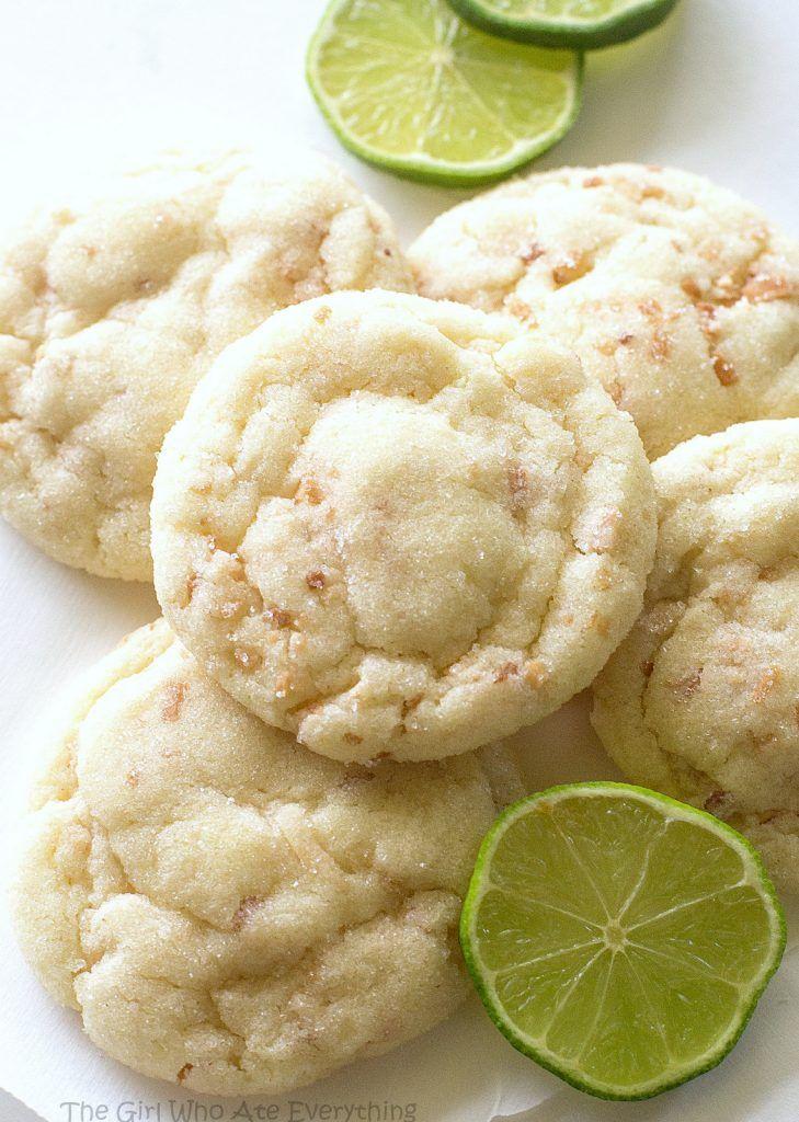 Chewy Coconut Lime Sugar Cookies | Recipe | Coconut, Sugar ...