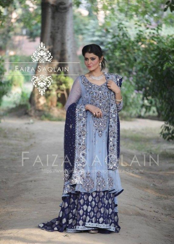Faiza Saqlain Formal Dresses 2014 For Women 001 for women local brands