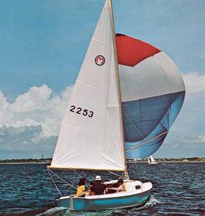 The O'Day Mariner 2-2 Sailboat and Cruising Boat